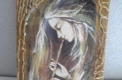 Anioł grający na flecie