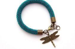 Bransoletka wąż morska zieleń 1