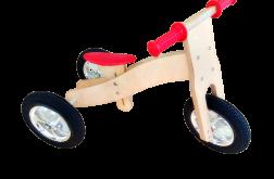 Rowerek biegowy drewniany 2w1 Hand Made 12m+