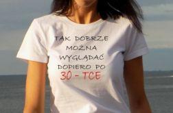 """t-shirt """"TAK DOBRZE"""" klasyczny fason"""