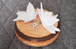 Kolczyki kwiatki na ślub, wesele, komunię 1