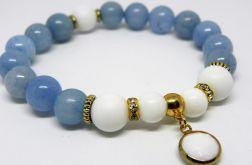 WHITE & BLUE - kamienie naturalne