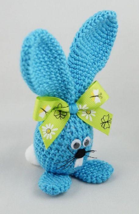niebieski króliczek