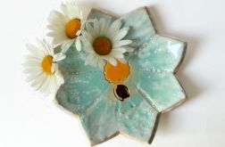Patera ceramiczna kwiat 18