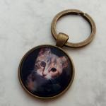 Brelok do kluczy z kociakiem - Fabricate
