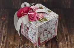 Romantyczny różany box ślubny