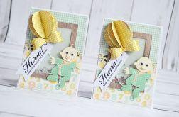 Kartka dla chłopczyka z okazji narodzin