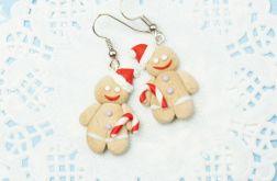 CIASTEK świąteczne kolczyki