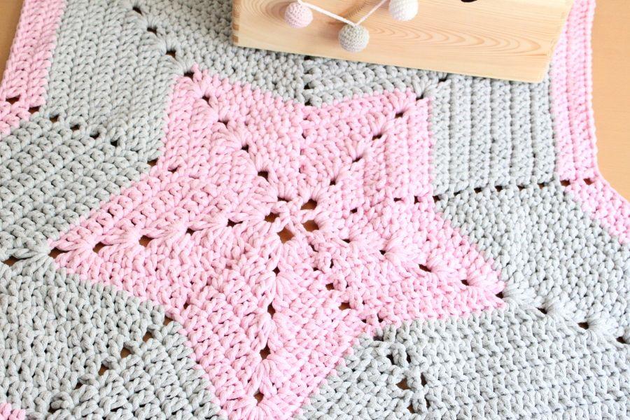 Dywan Pink Star