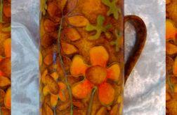 kubek w nastroju lekko jesiennym