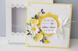 Kartka ślubna Słoneczne Zaślubiny