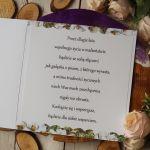 Ślubne boho - Środek kartki