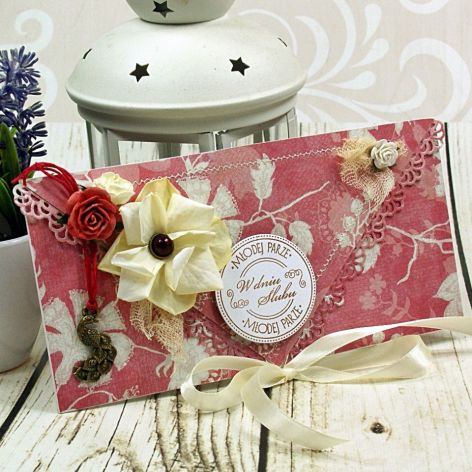 Kartka z okazji ślubu-czerwcowa winnicą (k1)