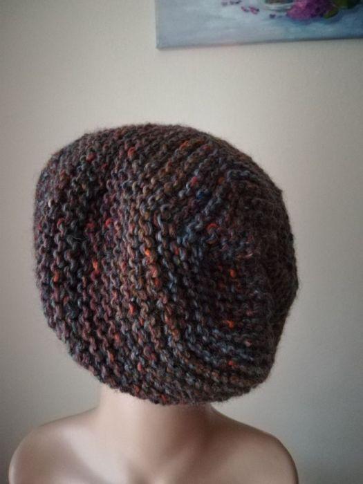 Kolory ziemi czapka