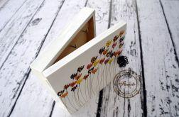 pudełko na klucze tulipany