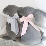 COTTONI królik poduszka aksamitna