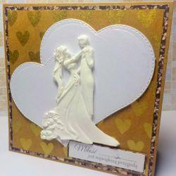 kartka ślubna Para Młoda 2