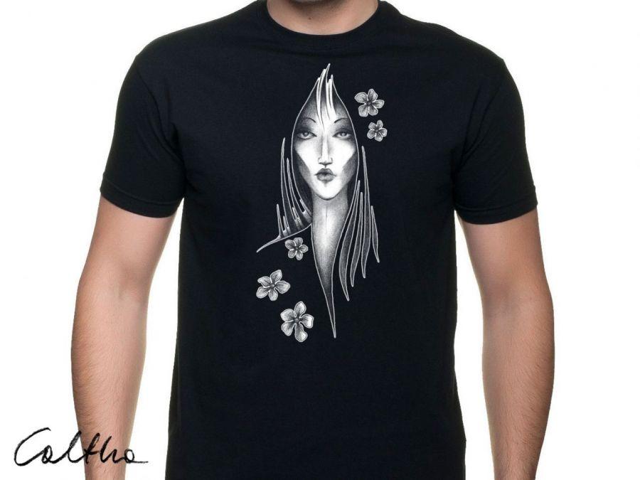 Kwiaty - t-shirt męski