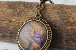 Malowany medalion Molten