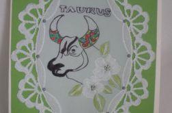Kartka ze znakiem zodiaku