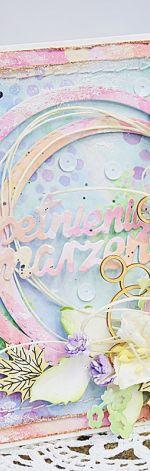 Pastelowa kartka urodzinowa / imieninowa