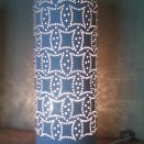lampa  stołowa romby