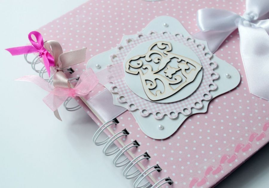Album dla dziewczynki - różowy -