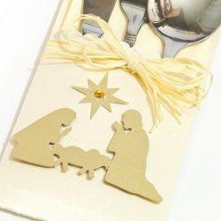 Etui na sztućce Boże Narodzenie Św Rodzina