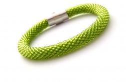 Bransoletka wąż zielona jasna