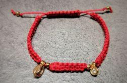 Bransoletka Red Modern Beauty