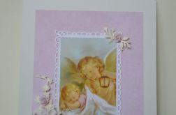 Anioł Stróż obrazek na ścianę