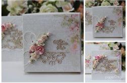 Kartka z pudełkiem - romantyczny ślub 2cd