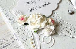 Ślubna kopertówka - inaczej vel.30