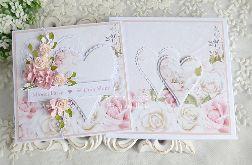 Ślubna kartka w pudełku 474