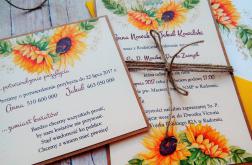 Zaproszenia jednokartkowe flowers # 15