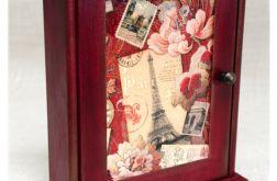 Szafka na klucze ~Pocztówka z Paryża~ Francja
