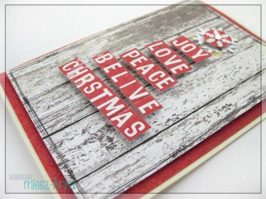Wyjątkowa KARTKA ŚWIĄTECZNA - 24 - Boże Narodzenie, kartka, świąteczna