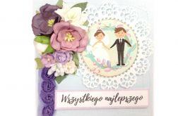 kartka ślubna #597