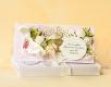 Kartka komunijna z pudełkiem dla dziewczynki- komplet z pudełkiem