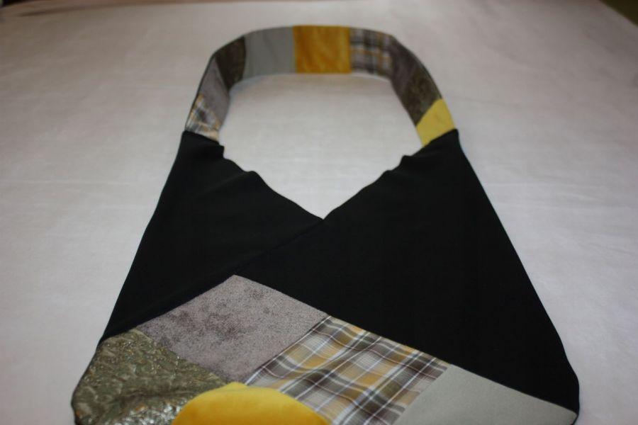 torba czarna worek Q szary- na Fundację