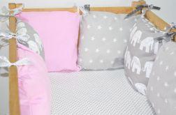 Modułowy ochraniacz do łóżeczka 6 szt N26