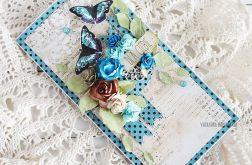 Kartka urodzinowa z motylkami, 542
