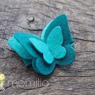 Motyl spinka do włosów 22