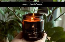 Sweet Sandalwood - świeca sojowa 120ml