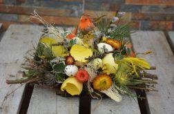 stroik Wielkanocny pomarańczowy ptak