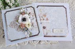 Ślubna kartka w pudełku 398
