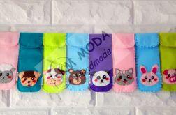 Kawaii ~ kolorowe piórniki ze zwierzakami