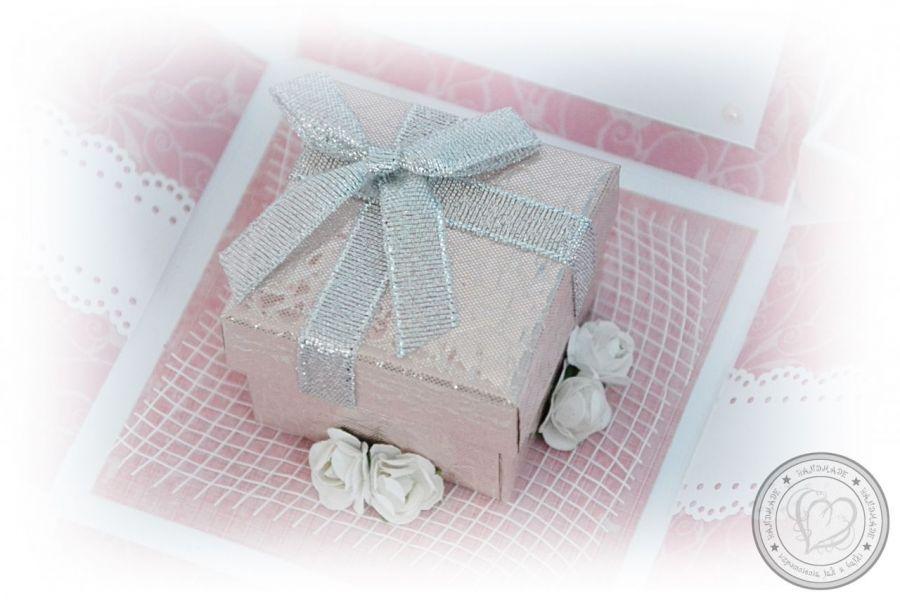 Exploding box z okazji Chrztu dla dziewczynki