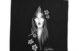 Kwiaty - torba z nadrukiem