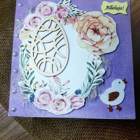Elegancka kartka Wielkanocna #3